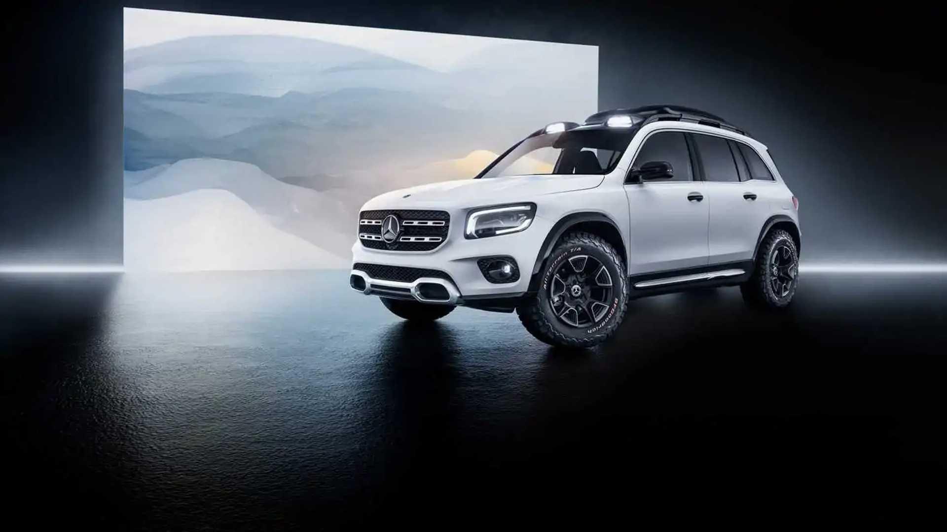 Mercedes-Benz официально показал кроссовер Concept GLB