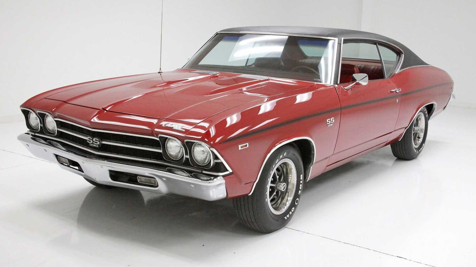 """[""""Garnet Red 1969 Chevrolet Chevelle SS Coupe Is A Looker""""]"""