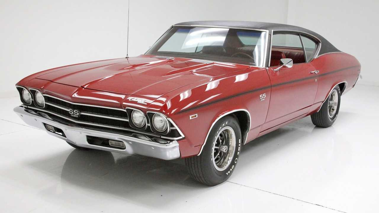 Garnet Red 1969 Chevrolet Chevelle SS Coupe Is A Looker