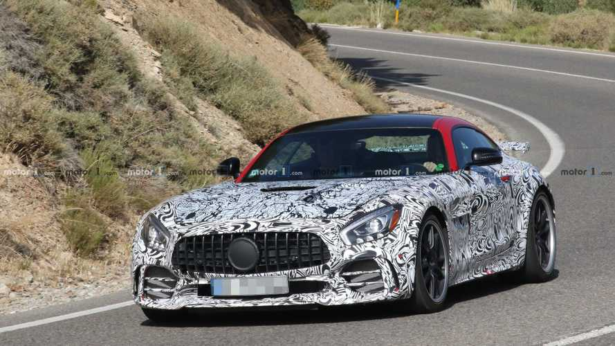 Mercedes-AMG GT R Black Series new spy photos