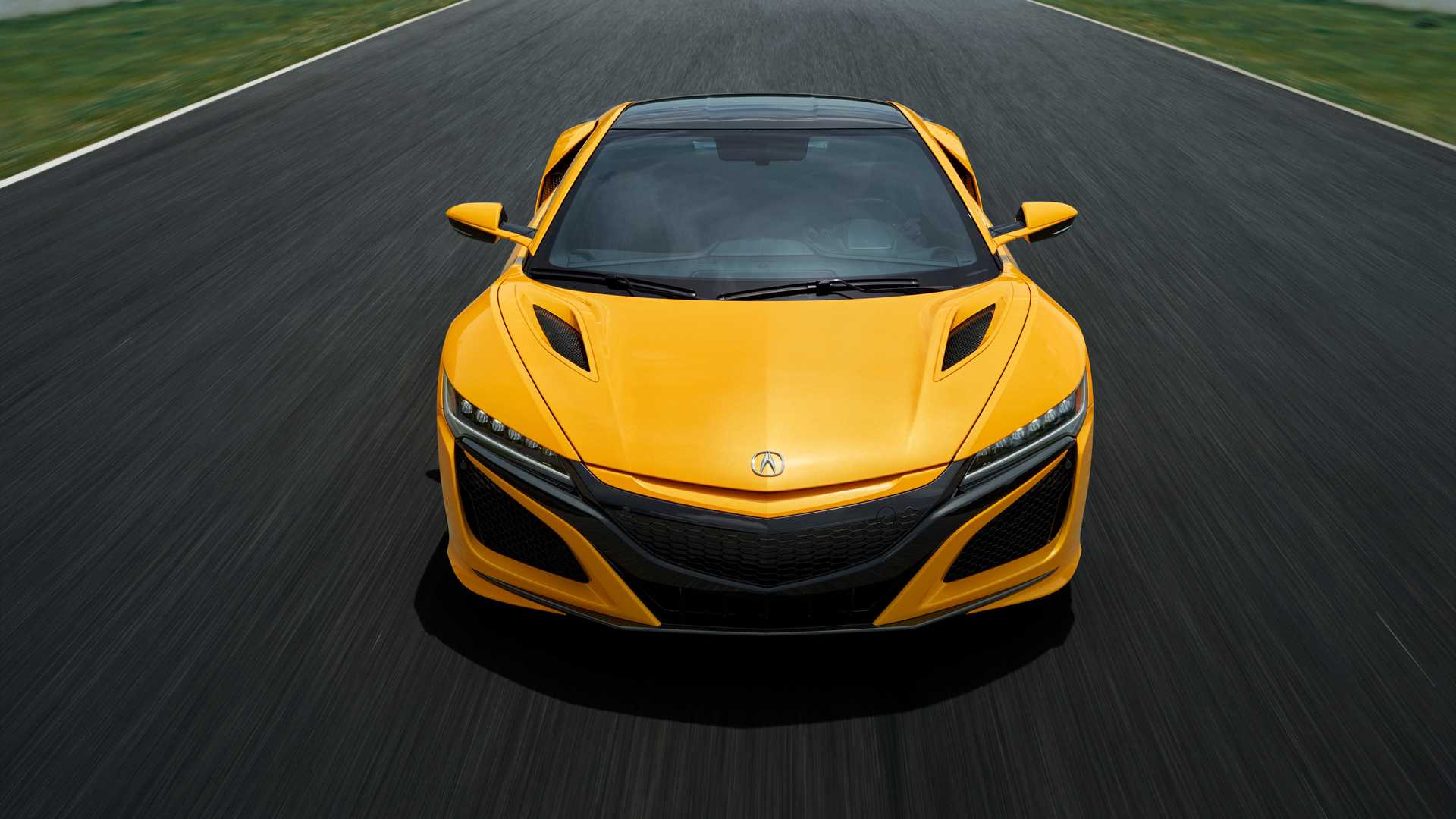 2020 Acura NSX Debuts Heritage Color - Indy Yellow Pearl ...