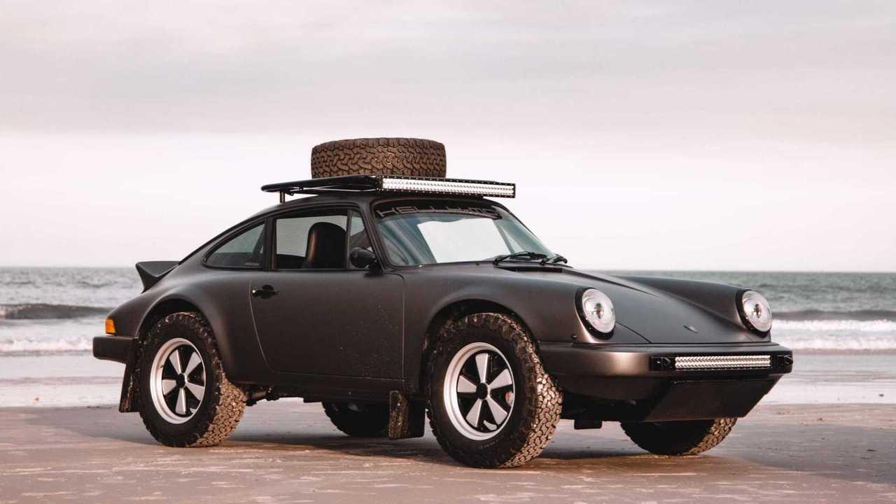 1984 Porsche 911 Carrera Gets 'The Safari Treatment'