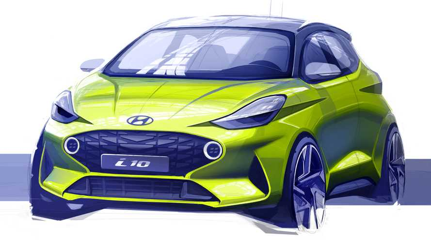 2020 Hyundai i10 Looks Surprisingly Mean In First Official Sketch