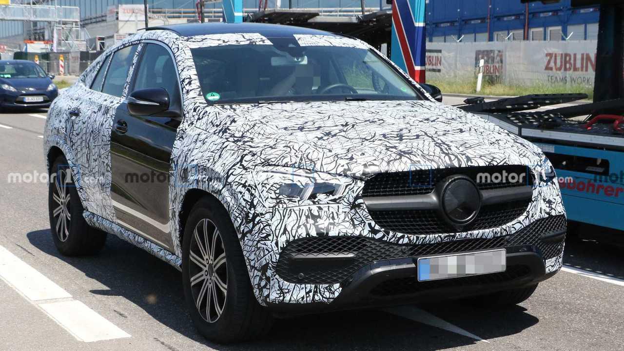 Mercedes-Benz GLE Coupé 2020 (flagra)