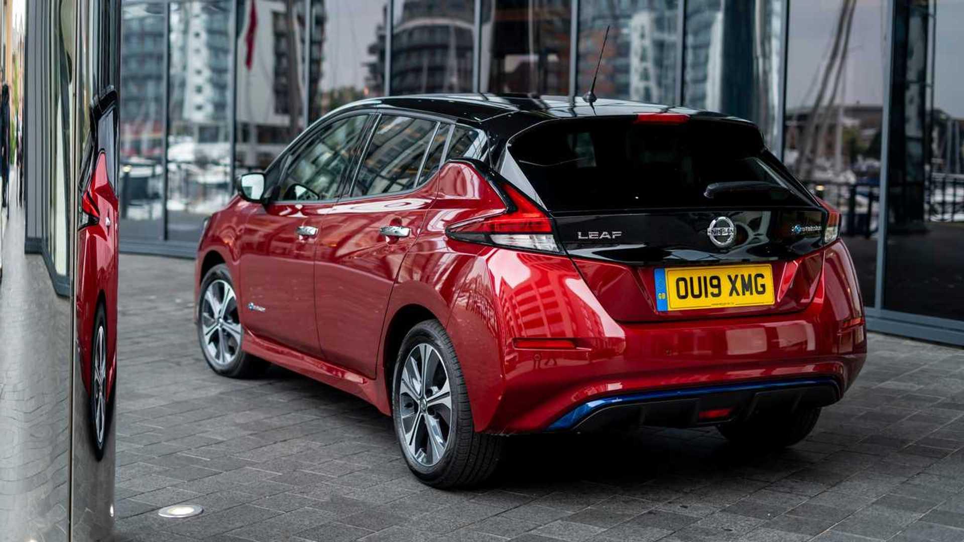 Nissan LEAF e+ 2019 (Reino Unido)