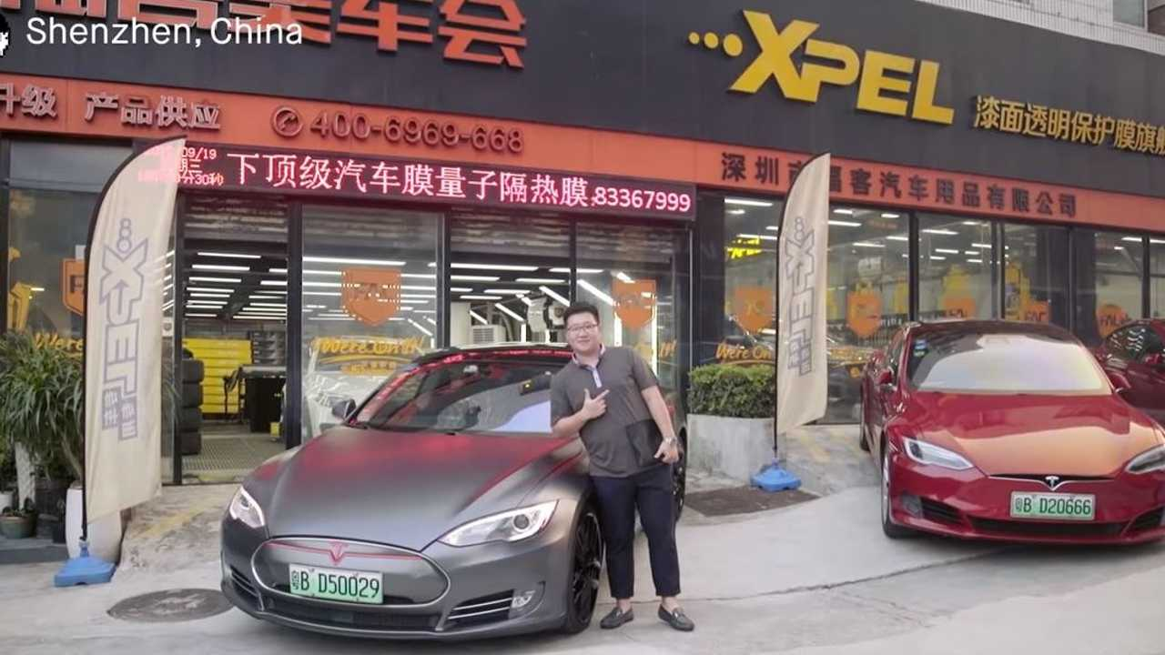 china tesla vehicles
