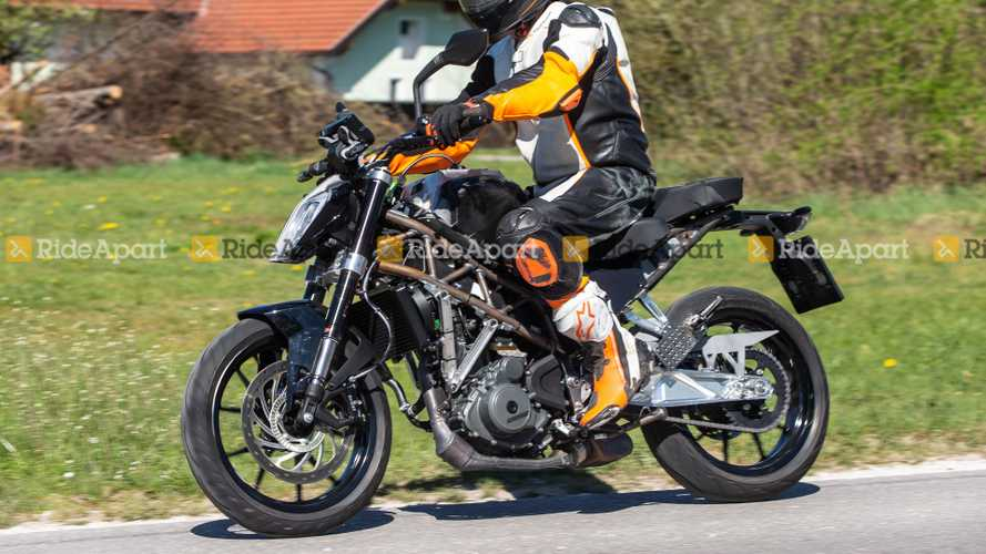 Spotted: 2021 KTM 390 Duke Testing In Germany