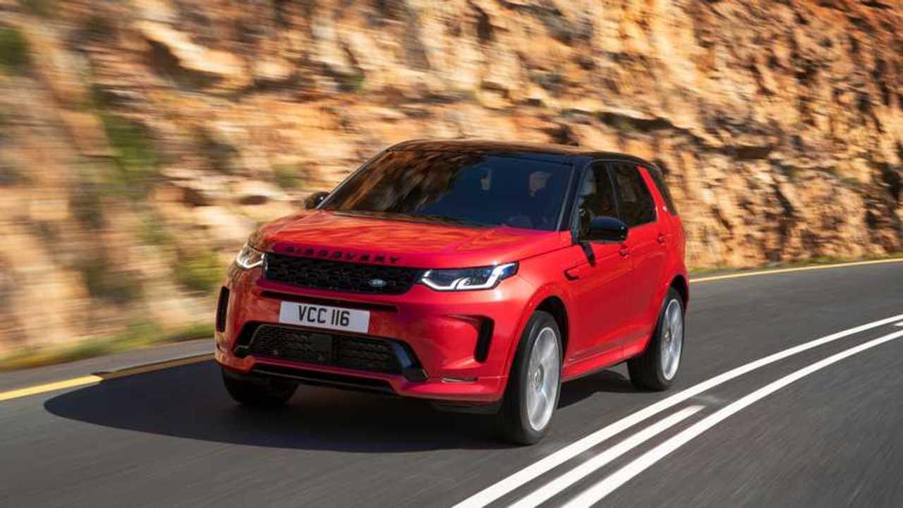 Makyajlı 2019 Land Rover Discovery Sport