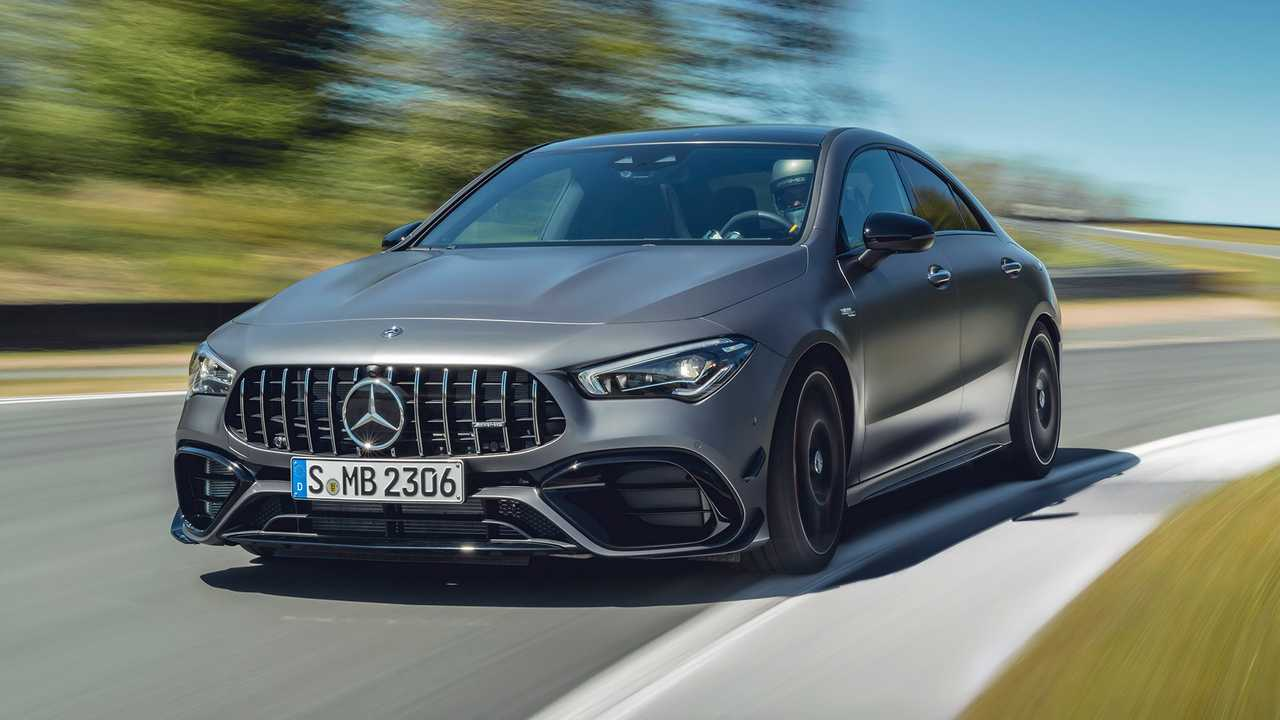 Mercedes-AMG A45 S And CLA 45 S Storm Into Goodwood With 416 HP
