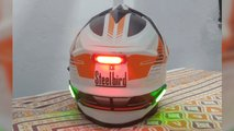 helmet smart light arduino mod