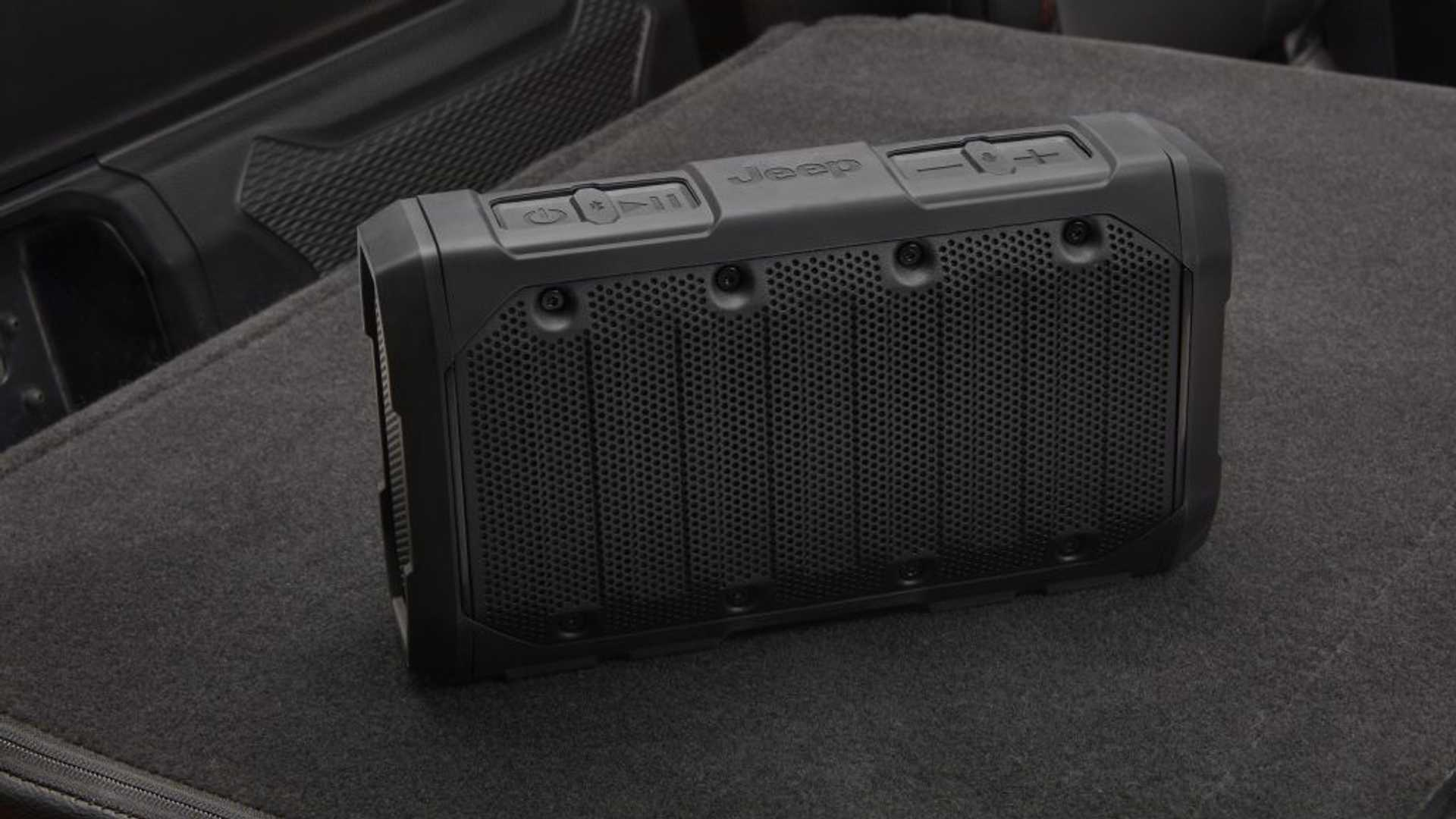 Jeep Gladiator Bluetooth Speaker Instructions