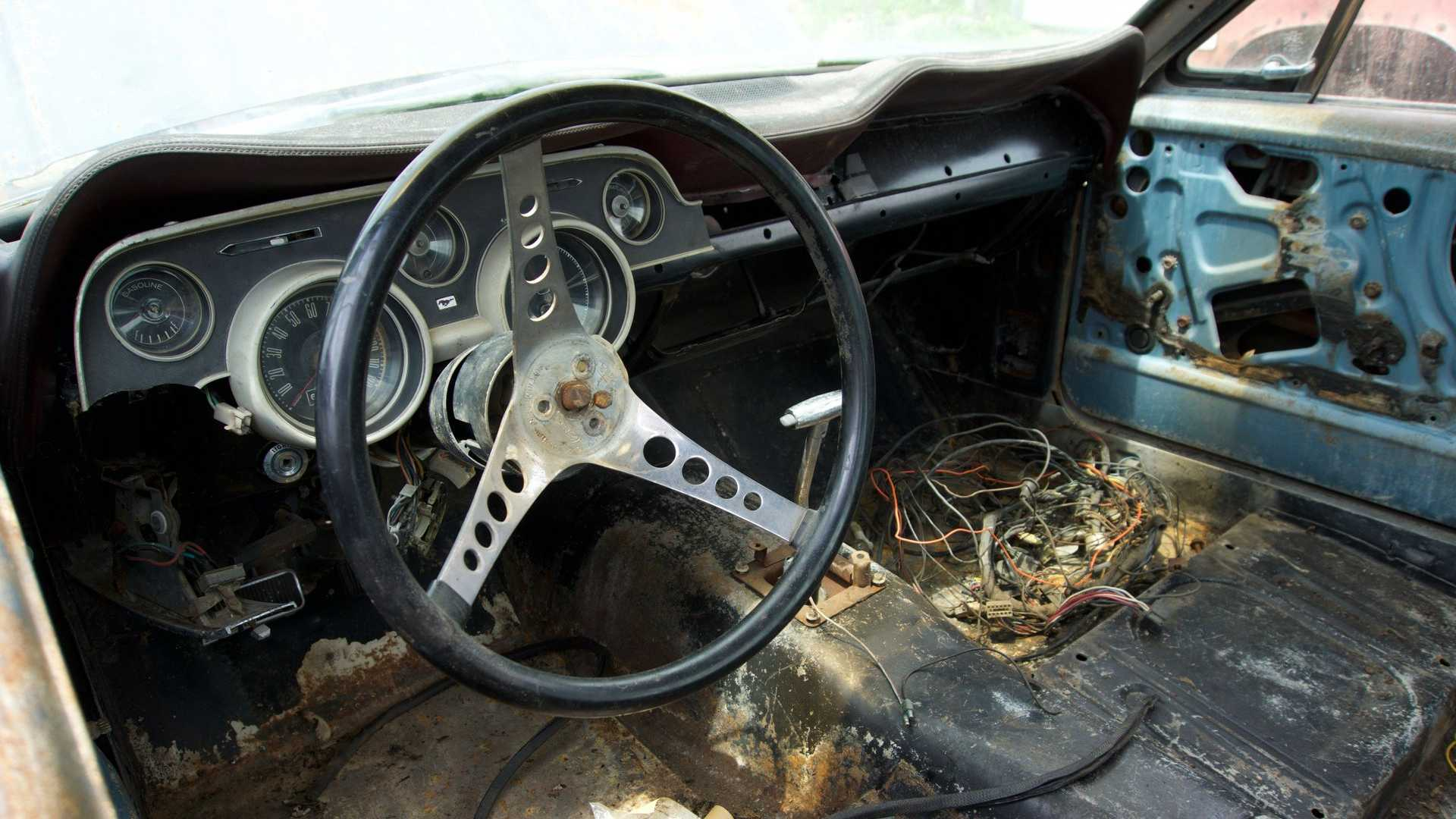 """[""""1967 Ford Mustang Fastback project car""""]"""