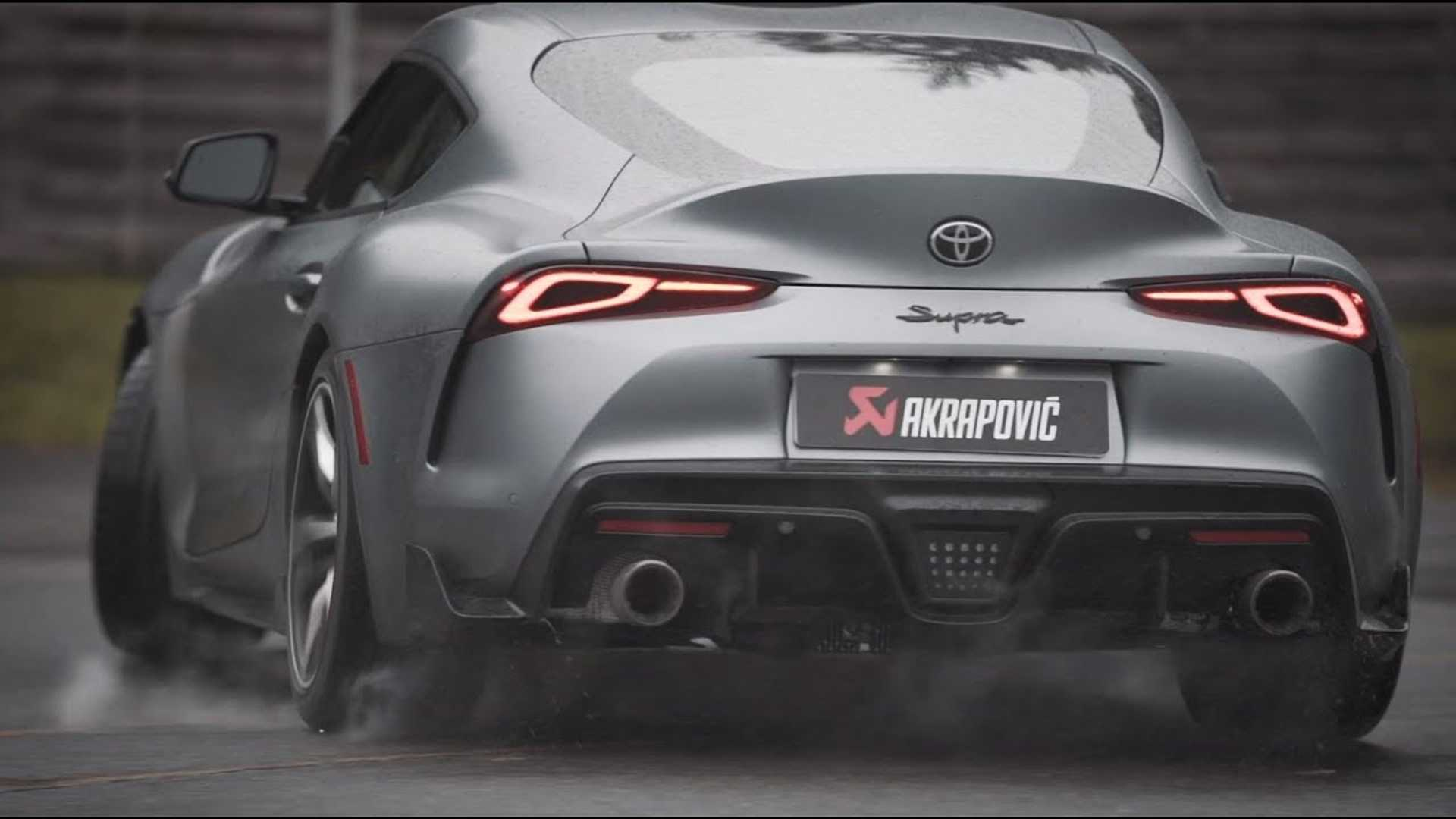2020 Toyota Supra Sounds Delicious With Akrapovic Exhaust