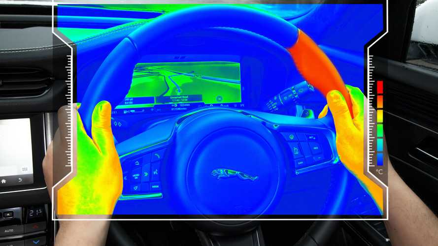 Jaguar Land Rover has developed rapidly heating steering wheel to warn you