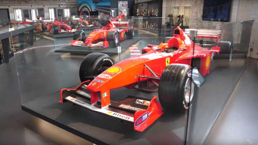 This Is The Ultimate Michael Schumacher Exhibit
