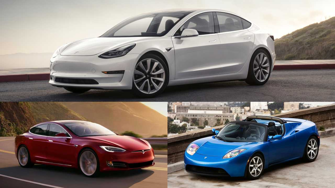Tesla: Model S P100D, Model 3 Performance, Roadster
