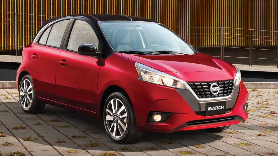 Nissan March 2021 ganha cara do Versa para seguir vivo no México