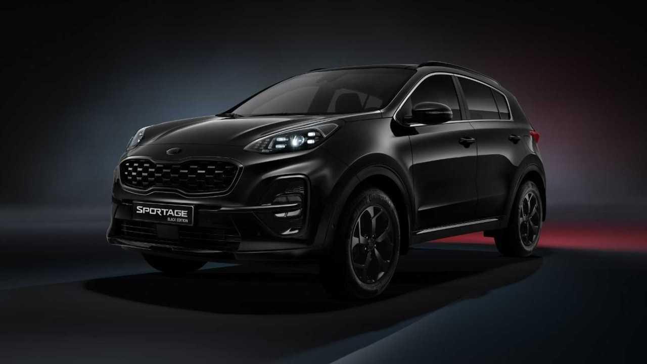 Kia Sportage Black Edition стал доступнее в России