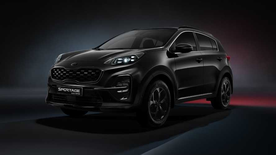 В России появился «очень черный» Kia Sportage