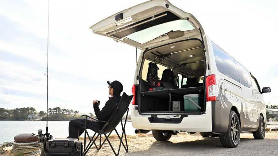 Nissan NV350 Caravan Mobility Concept Combines Vacation Spot And Work Van