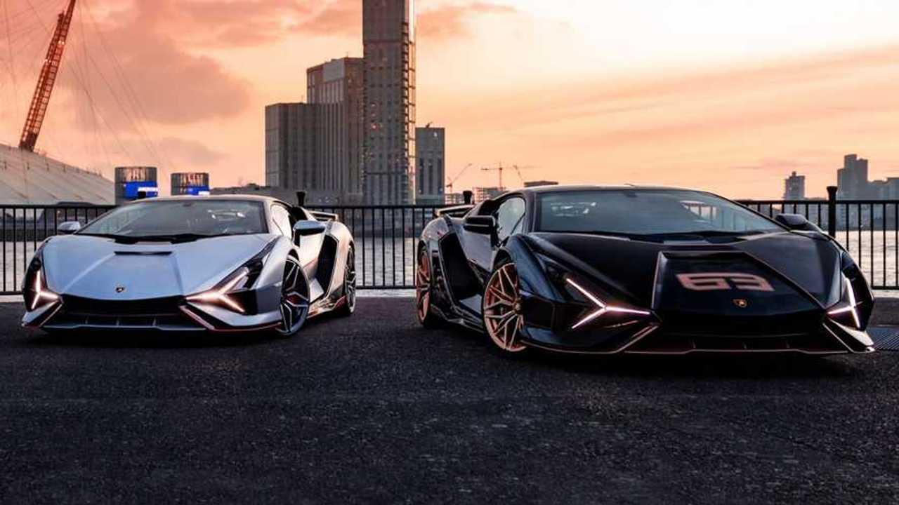 Lamborghini Sian a Londra