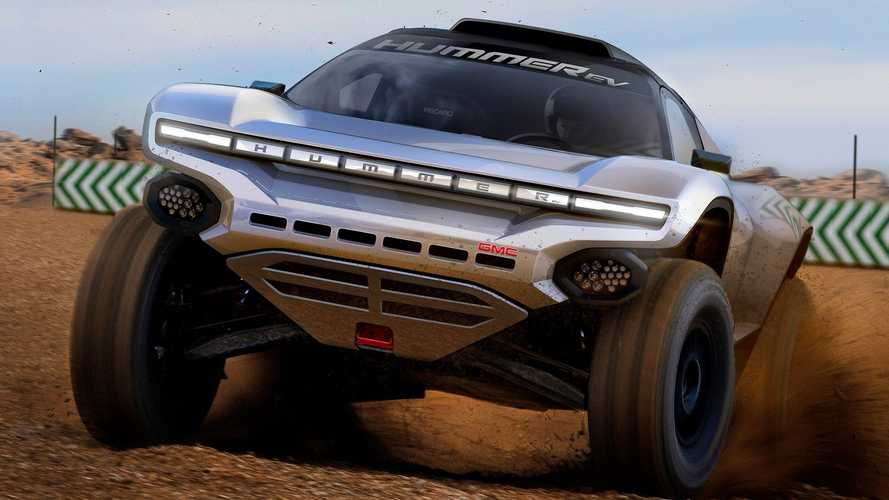 GMC Hummer EV Will Go Racing In The Extreme E Series... Sort Of