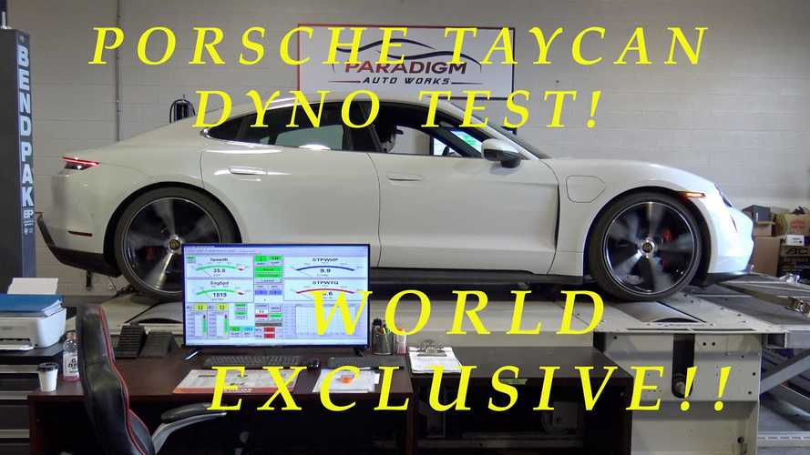 Porsche Taycan 4S dyno tested for first time, exceeds official torque figure