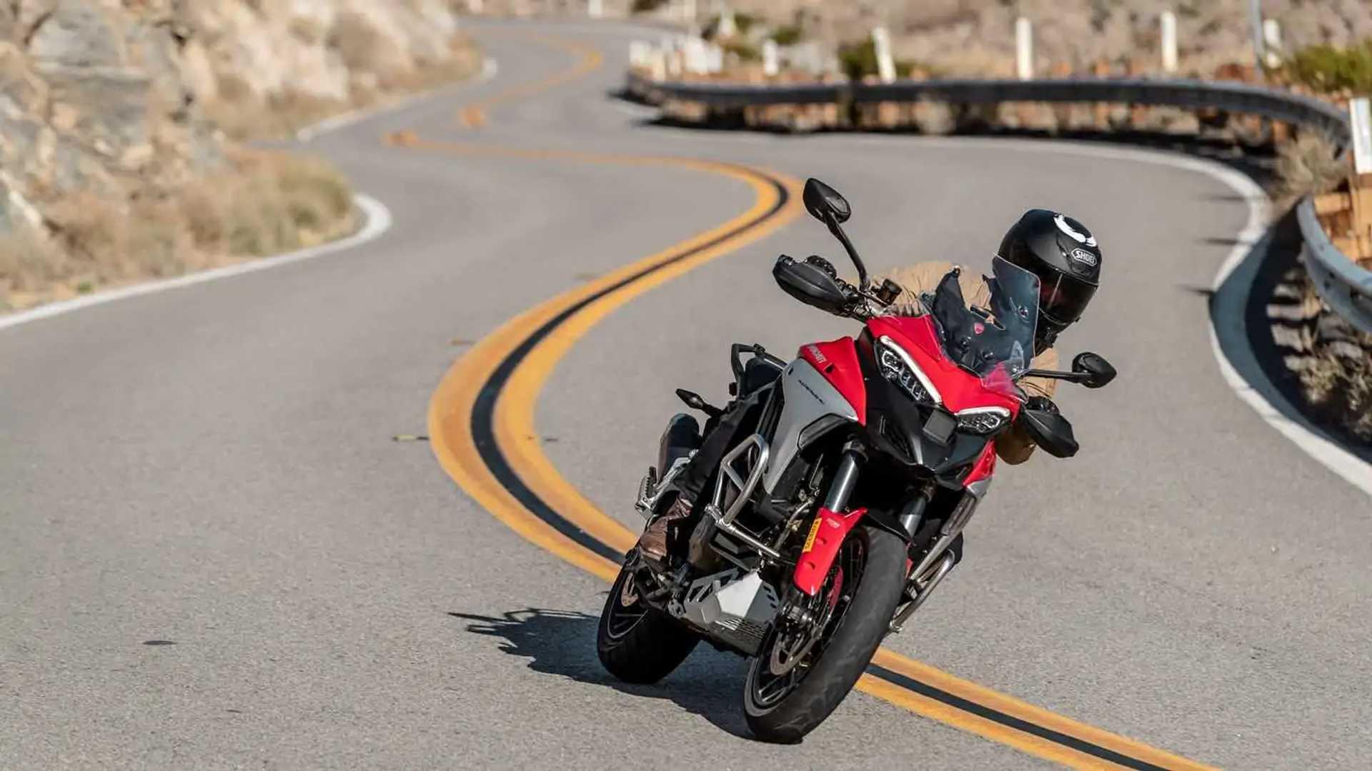 2021 Ducati Multistrada V4 S - Twisties
