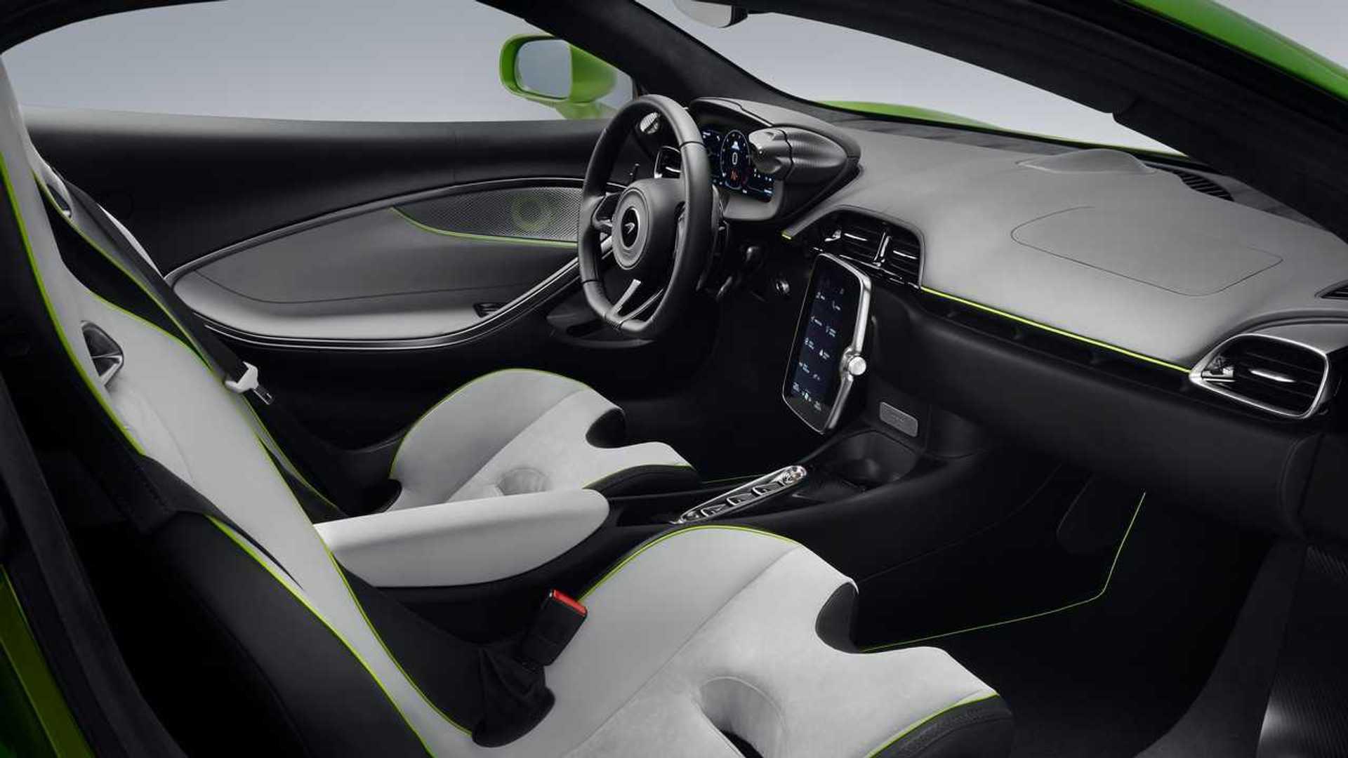 2022 McLaren Artura Interior