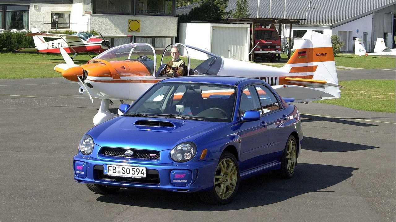 Subaru Impreza WRX STI (Modelljahr 2002)