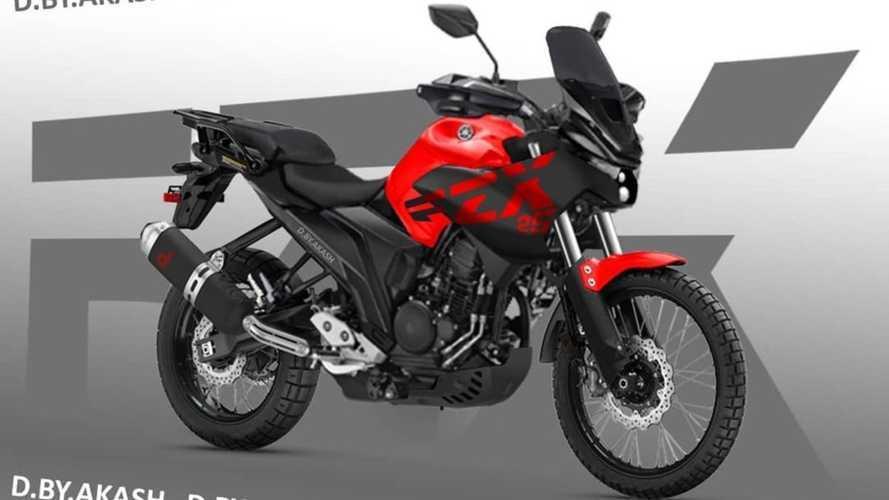 Digital Artist Imagines Rumored Yamaha FZ-X Adventure Bike