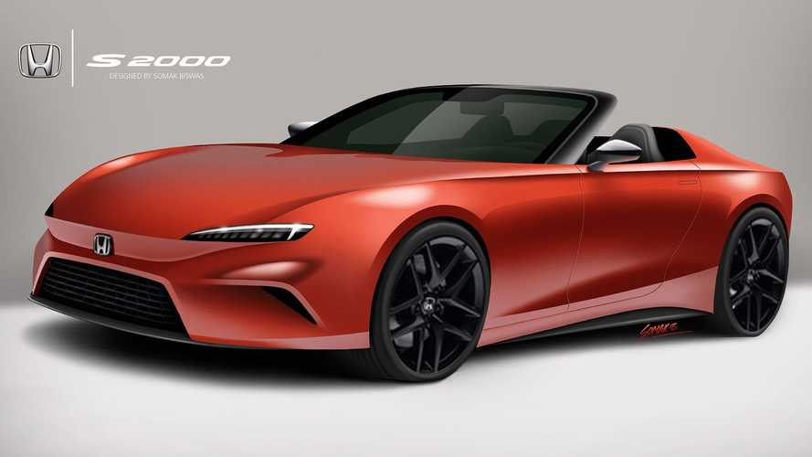 This Is A Well Thought Out Rendering Of A Honda S2000 Revival