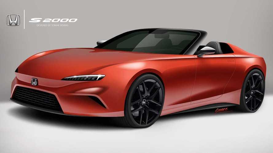 ¿Y si fuera así el Honda S2000 del futuro?