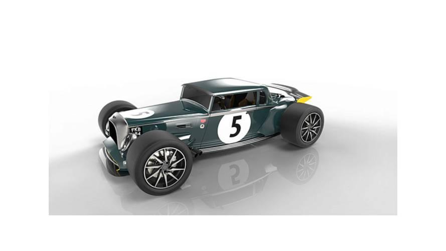 Aston Martin V12 hot rod render