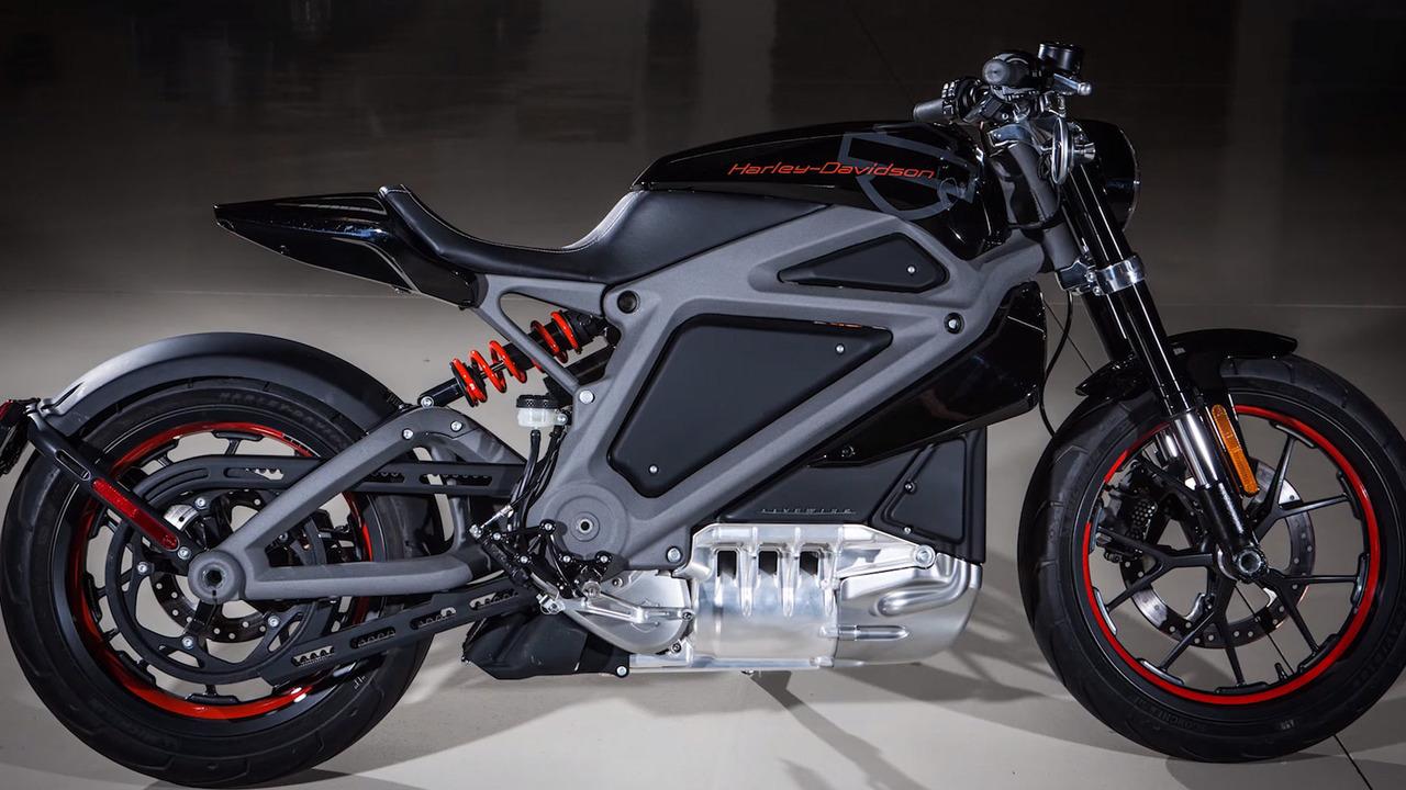 Harley Davidson Livewire - Elektrikli Motosiklet Konsepti