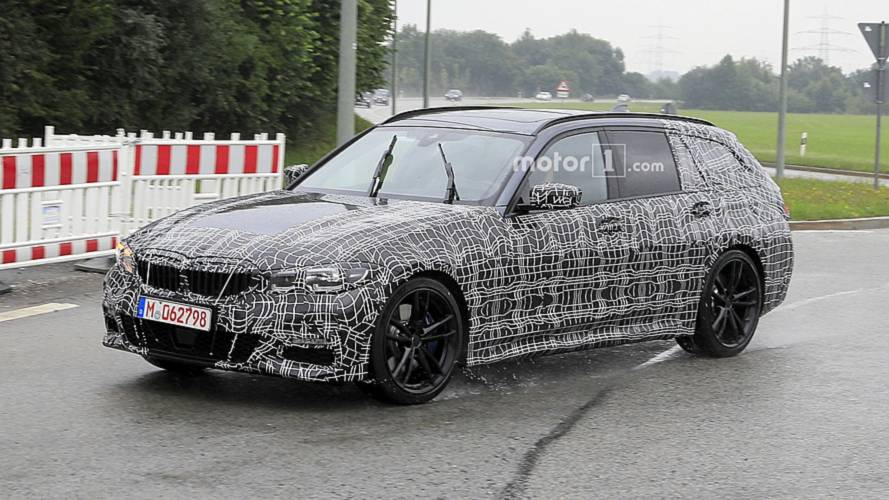 BMW 3 Series Sports Wagon Spied Covered In Camouflage [UPDATE]