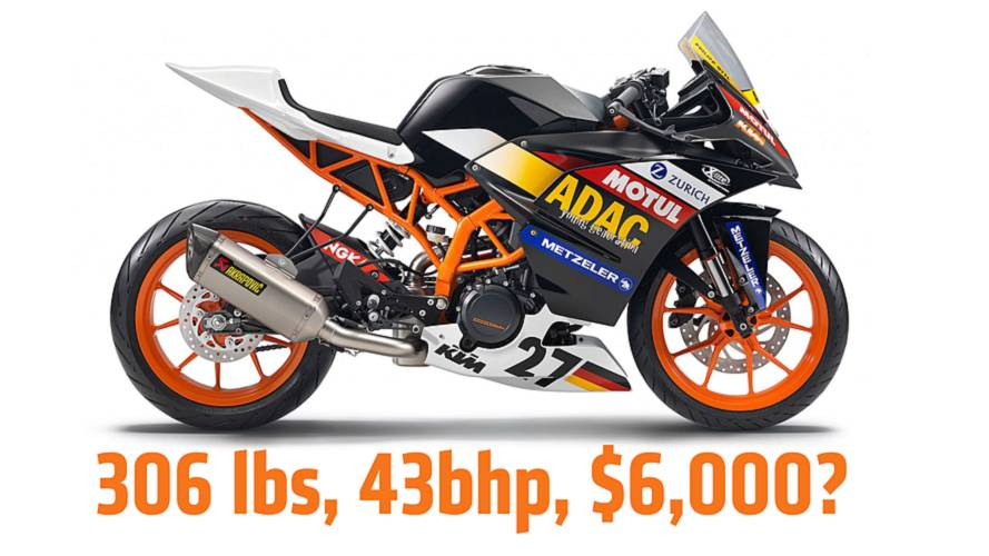 KTM RC390: a small, affordable sport bike