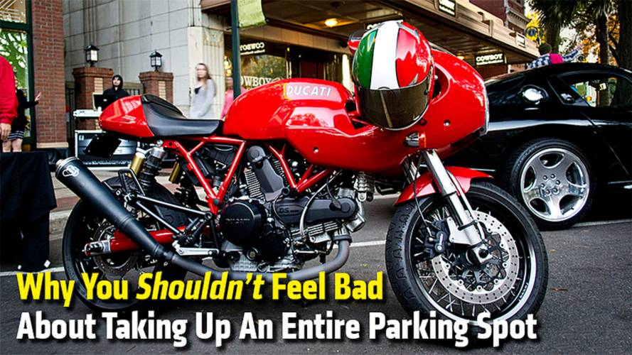 Why You Shouldn't Feel Bad About Taking Up An Entire Parking Spot