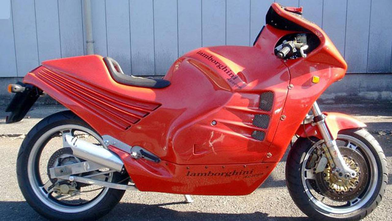 That Time Lamborghini Built a Motorcycle