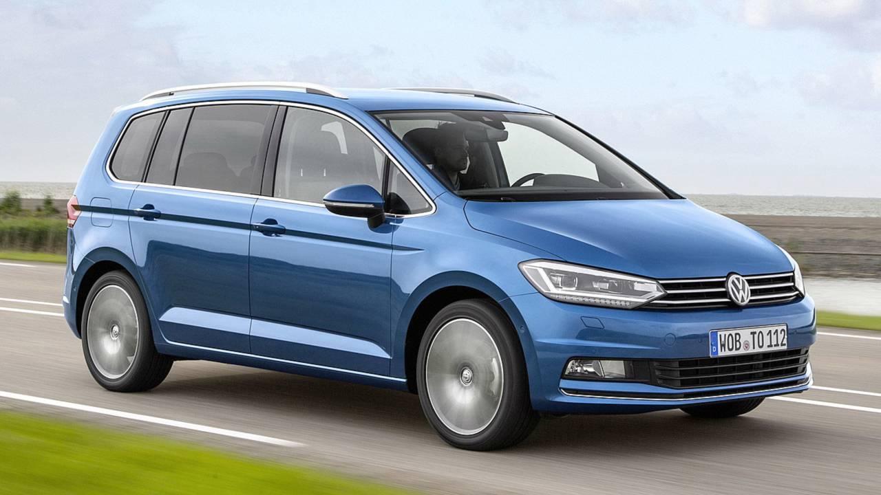 Vans: VW Touran vorne