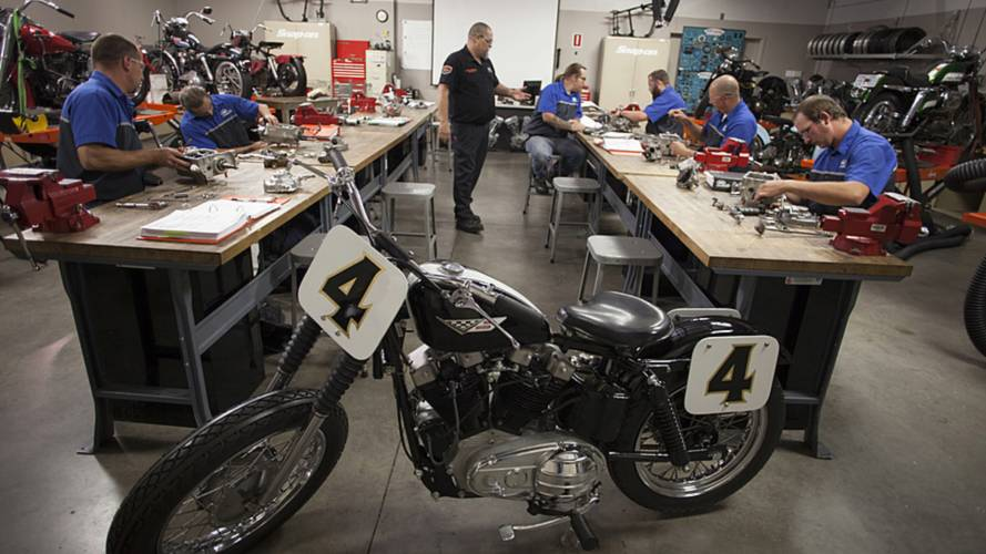 The Motorcycle Mechanics Institute Does Vintage Too