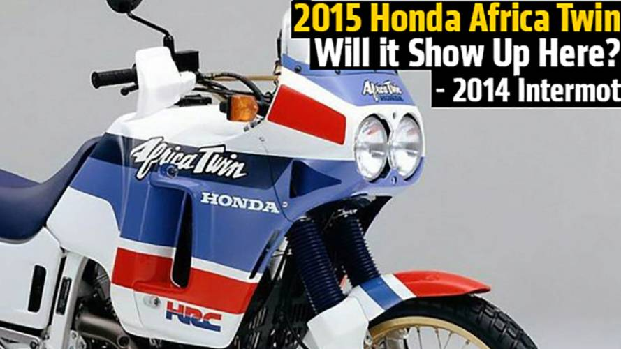 2015 Honda Africa Twin Will it Show Up Here? - 2014 Intermot