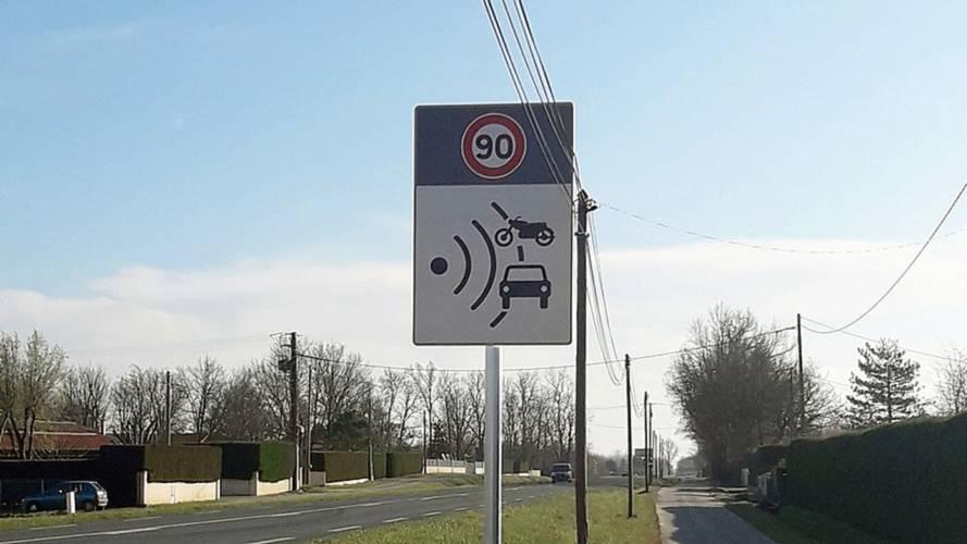 Indre-et-Loire - Certains panneaux signalant les radars fixes vont être retirés