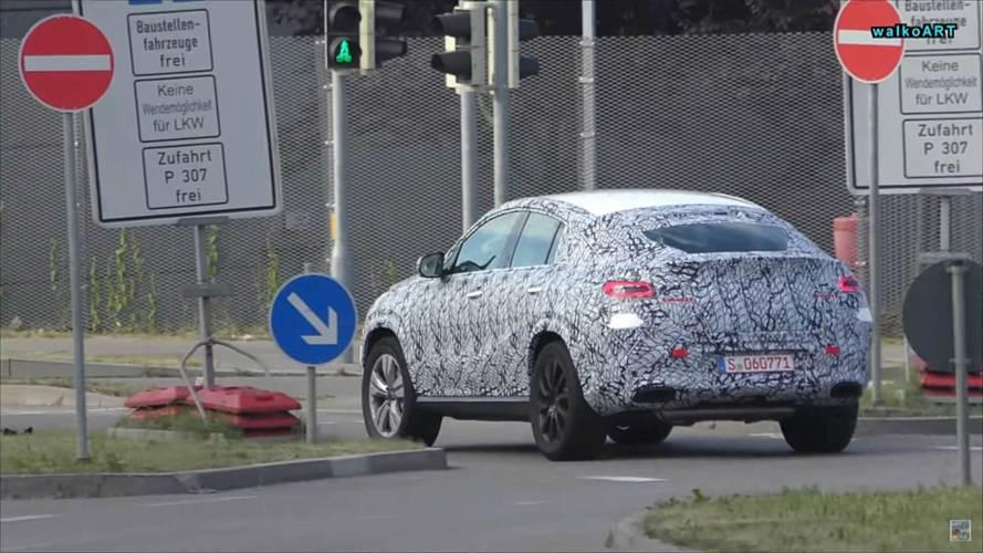 2020 Mercedes GLE Coupe ilk kez görüntülendi