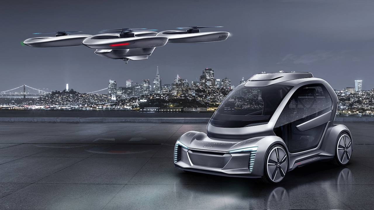 Audi And Airbus Air-Taxi Project