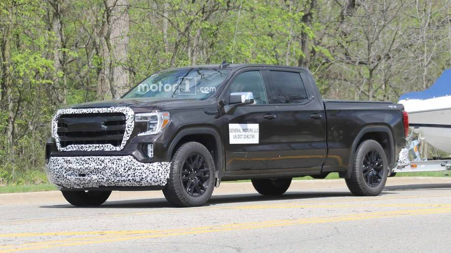 GMC Sierra 1500 Elevation Spy Shots