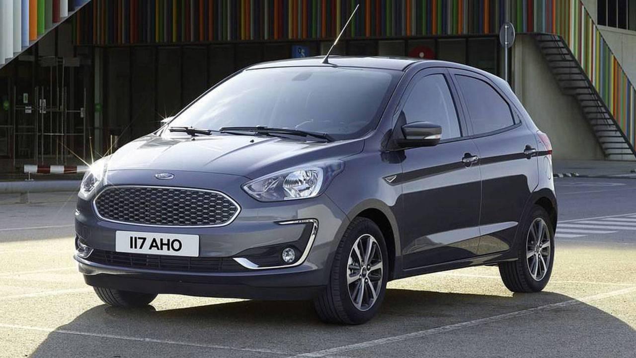Ford Ka e Ka Sedan - Reestilização