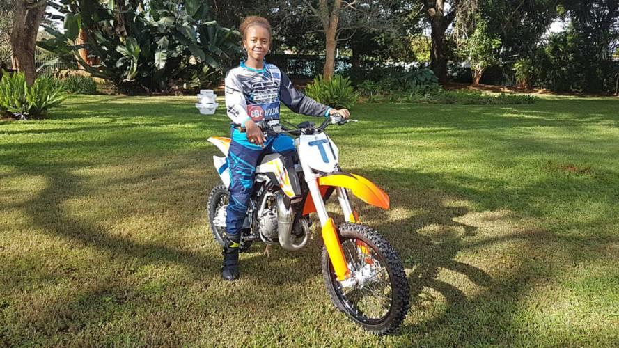 Meet Tanya Muzinda - Zimbabwe's Youngest Motocross Champ