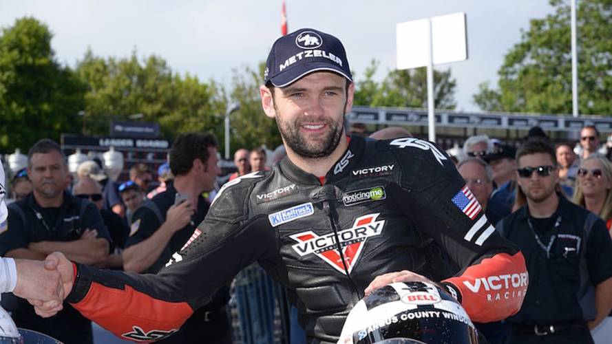Dunlop, Victory Earn 2nd Place at Isle of Man TT