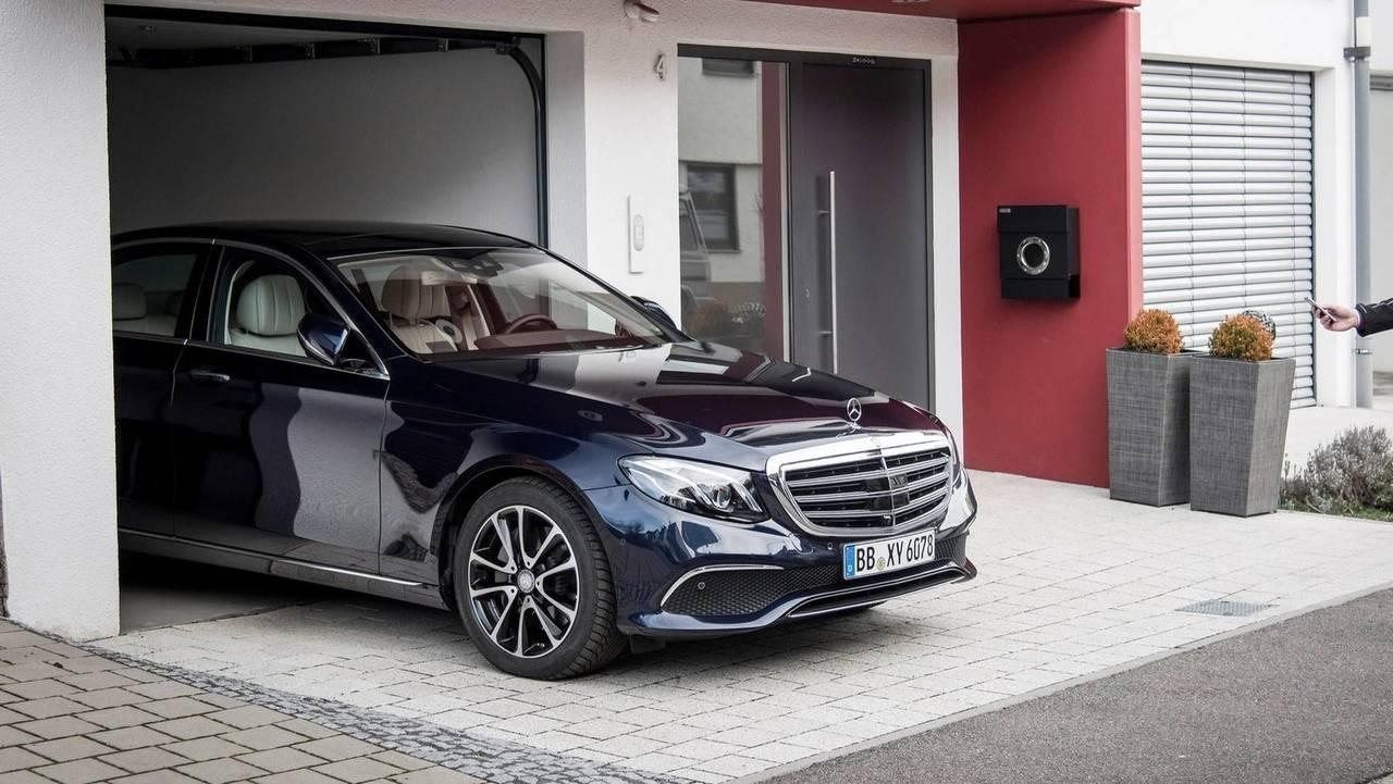 Mercedes Classe E garage